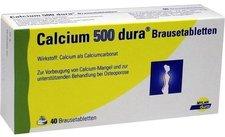 Mylan Calcium dura 500 mg Brausetabletten (40 Stk.)