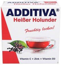 Scheffler ADDITIVA Heißer Holunder Pulver (10 x 12 g)