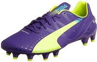 Puma evoSPEED 1.3 FG Men prism violet/fluro yellow/scuba blue