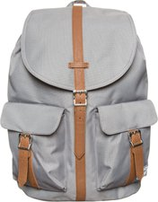 "Herschel Dawson Backpack 15 "" grey/tan synthetic leather (10233)"