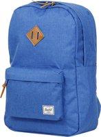 Herschel Heritage Backpack cobalt crosshatch/tan leather