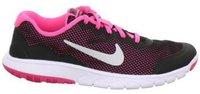 Nike Flex Experience 4 Junior black/metallic silver/pink pow