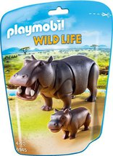 Playmobil Wild Life - Nilpferd mit Baby (6945)