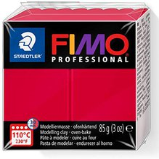 Fimo Professional 85 g karmin