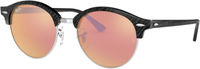 Ray Ban Clubround RB4246 1197Z2 (black/brown mirror pink)