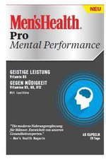 Omega Pharma Men's Health Pro Mental Performance Kapseln (40 Stk.)