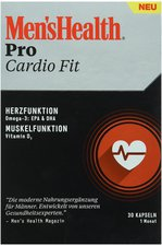 Omega Pharma Men's Health Pro Cardio Fit Kapseln (30 Stk.)