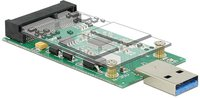 DeLock USB 3.0 mSATA Adapter (62681)