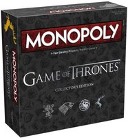 Winning Moves Monopoly Game of Thrones Collector's Edition (English)