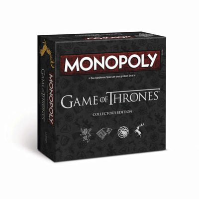 Winning Moves Monopoly Game of Thrones Collector's Edition (German)