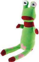 Heunec Dolle Socke - Frosch 35 cm