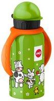 Emsa Trinkflasche mit Ärmchen Farm Familiy (400 ml)