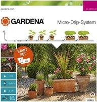 Gardena Micro-Drip-System Start Set Pflanztöpfe M (13001-20)