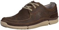 Clarks Trikeyon Fly brown leather