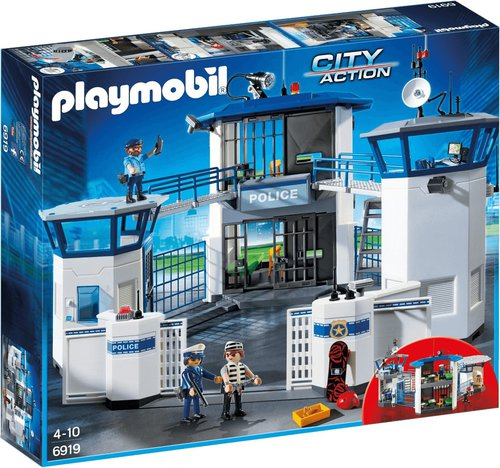 Playmobil City Action Polizeistation mit Gefängnis (6919)