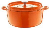 Berndes Bräter rund mit Gussdeckel 20 cm orange (034243)