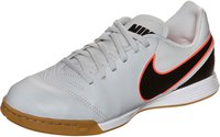 Nike Tiempo Legend VI IC Jr pure platinum/black/hyper orange