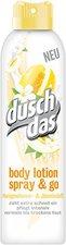 duschdas Honigmelone & Jasminduft Bodylotion Spray (150ml)