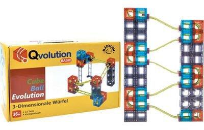 Qvolution Kugelbahn Basic Set 22