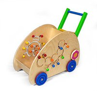 Hess Spielzeug Lauflernwagen Käfer Raupe