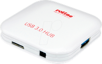 Roline 4 Port USB 3.0 Hub (14.02.5040)