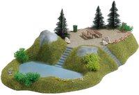 Busch Modellspielwaren See mit Rastplatz (3109)