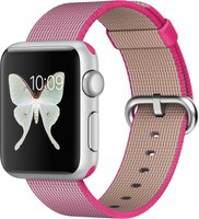 Apple Watch Sport 38mm Nylonarmband pink