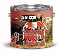 Saicos Holzlasur 2,5 l schwedenrot