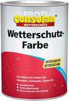 Consolan Profi Wetterschutz-Farbe rot 2,5 l