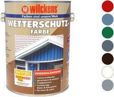 Wilckens Wetterschutz-Farbe taubenblau (5014) 2,5 l
