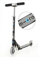 Micro Mobility Scooter Micro Sprite - Schwarz mit Streifen