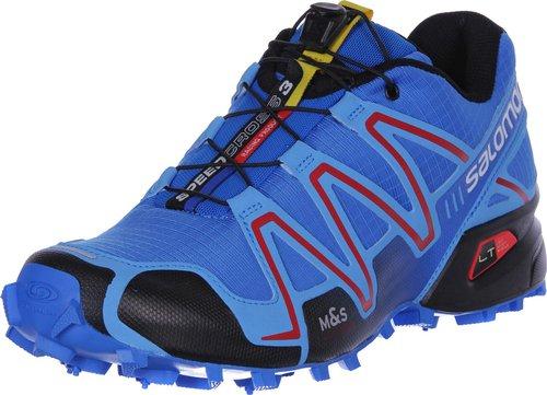 Salomon Speedcross 3 bright blue/process blue/radiant red