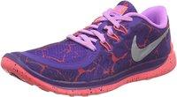 Nike Free 5.0 Lava GS court purple/metallic silver/fuchsia glow