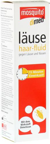 Mosquito dimeticon Läuse Haar-Fluid (100 ml)