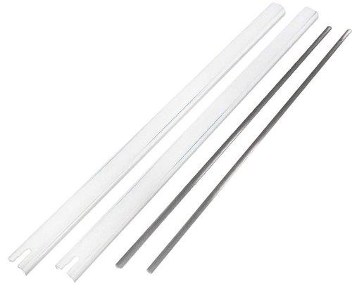 Abus Stangenset 3 für FOS550 weiß (118 cm)