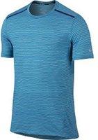 Nike Dri-Fit Cool Tailwind Stripe Herren-Laufshirt (724809) omega blue
