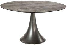 Stern Tisch Ben Aluminium taupe Tischplatte Silverstar 2.0 Dekor Tundra grau 134cm (430111)
