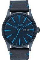 Nixon The Sentry Leather all dark blue (A105-2224)