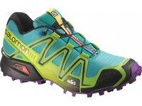 Salomon Speedcross 3 W teal blue/granny green/passion purple