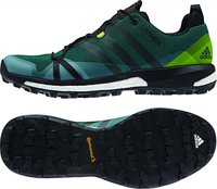 Adidas Terrex Agravic green/core black/semi solar slime