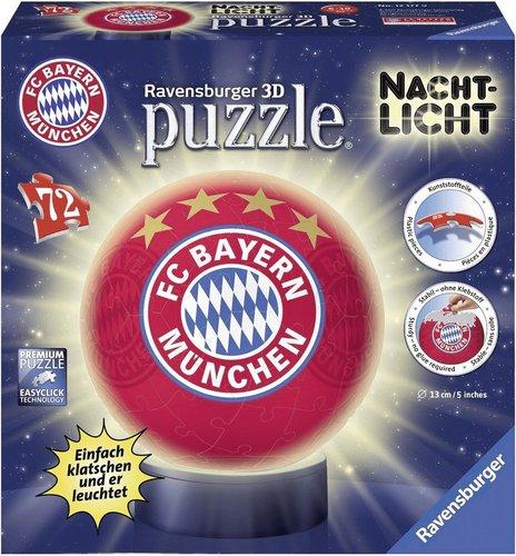 Ravensburger 3D-Puzzle Nachtlicht FC Bayern München