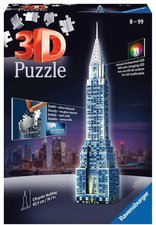 Ravensburger 3D-Puzzle Chrysler Building Night Edition