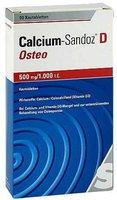 Sandoz Calcium Sandoz D Osteo 500 mg/1.000 I.E. Kautabletten (90 Stk.)