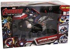 Preziosi The Avengers Captain America U-Command Motorcycle