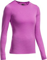 Icebreaker Oasis Long Sleeve Crewe Women sweetpea