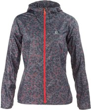 Salomon Fast Wing Graphic Hoodie W grey