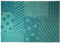 Esprit Home Stars and Stripes türkis (90x160cm)