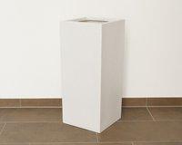 Eleganteinrichten Pflanzsäule weiß (30x30x68cm)