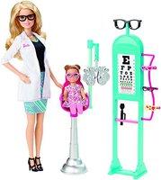 Mattel Barbie Ich wäre gern... Augenärztin