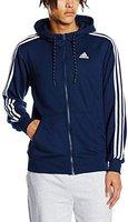 Adidas Essentials Sweatjacke Herren dunkelblau/schwarz